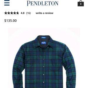 Mens Pendleton fireside flannel